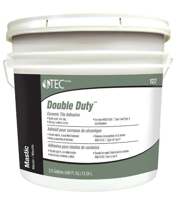TEC 123 Double Duty Mastic 3.5 Gal