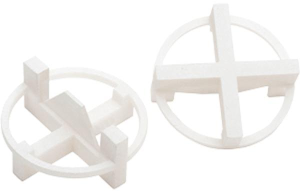 Tavy Tile Spacers - 1/8 inch White - 100 Pack