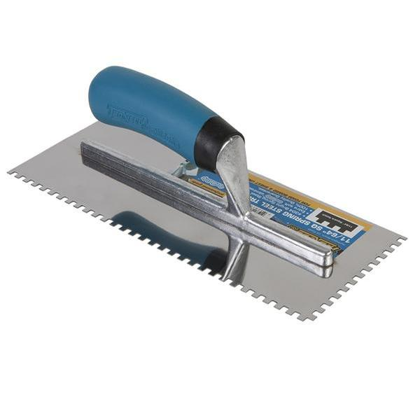 Trowel 11/64x11/64 Square Notch Stainless Softgrip