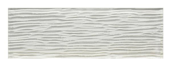 Bamboo Snow White Glass Tile 4x12