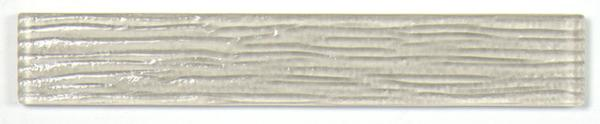 Bamboo Creme Glass Tile 2x12
