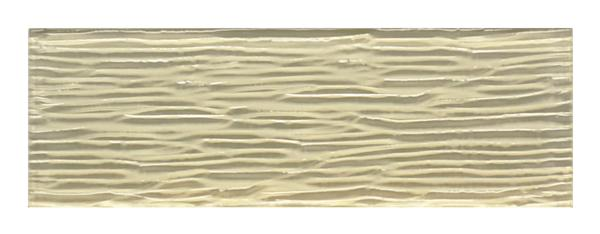 Bamboo Creme Glass Tile 4x12